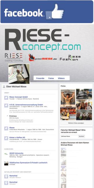 Facebook Michael Riese