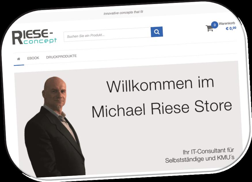 Shop-Systeme von Riese-Concept GmbH